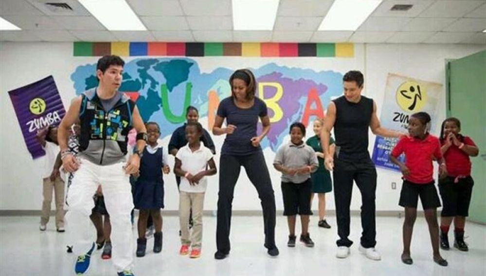 Zumba Michelle Obama