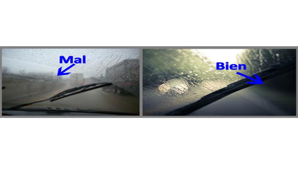 Los parabrisas y la visibilidad al volante