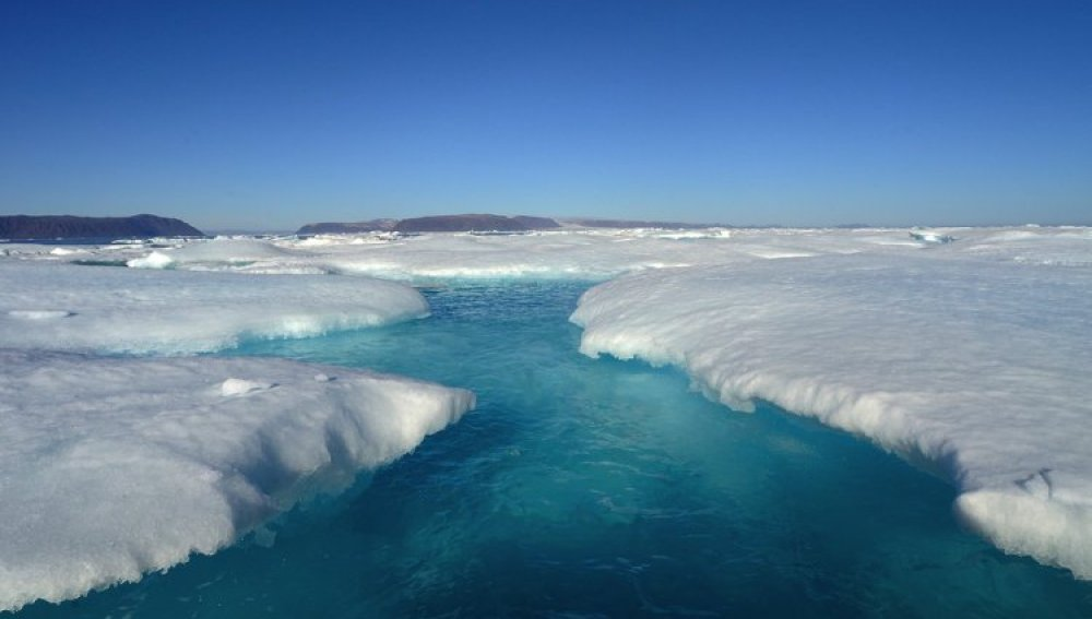 El deshielo de la Antártida y Groenlandia