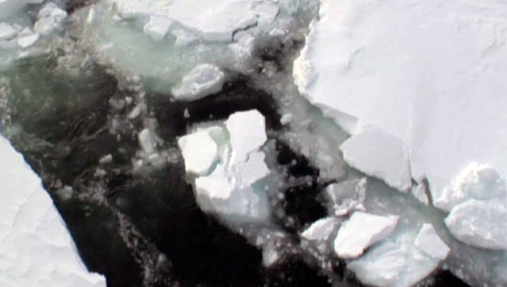 El deshielo del Ártico