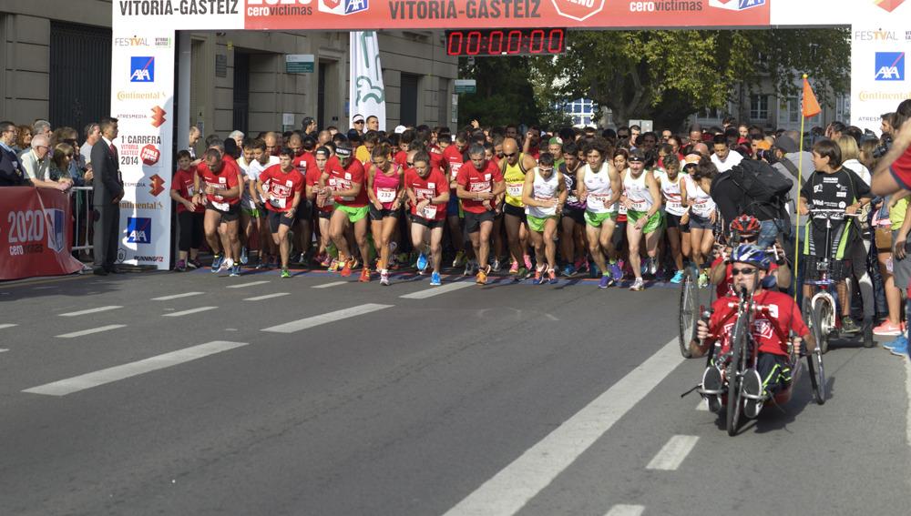 Carrera Ponle Freno Vitoria Gasteiz