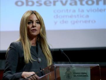 María Ángeles Carmona, en una comparecencia