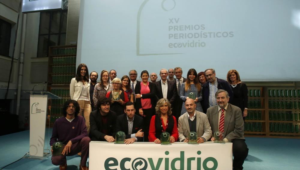 La XV Premios Periodísticos de Ecovidrio