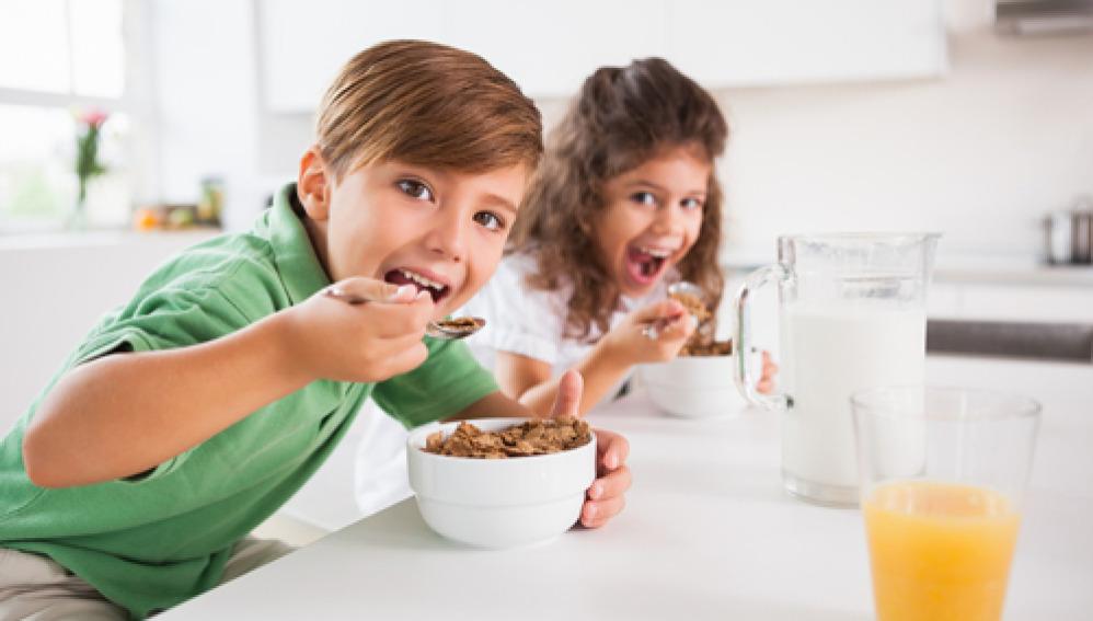 Los cereales, producto básico en la alimentación de los niños