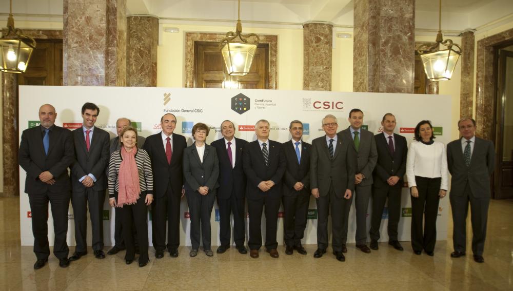 El CSIC y la Fundación General CSIC presentan la primera convocatoria de ayudas del programa ComFuturo