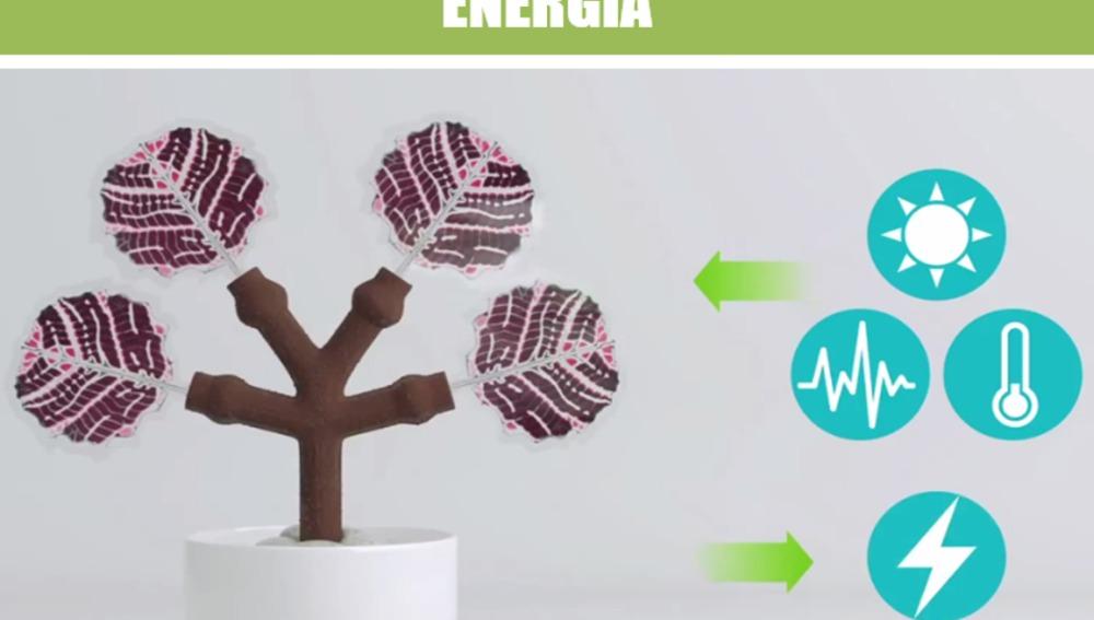 Desarrollan un árbol 'inteligente' que podría producir energía