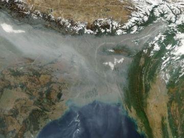 El Himalaya no actúa como barrea suficiente para frenar la contaminación
