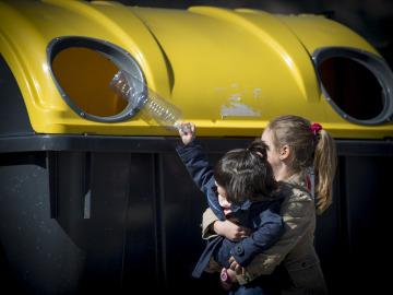 """""""En España ya se reciclan 7 de cada 10 envases domésticos ©Ecoembes"""
