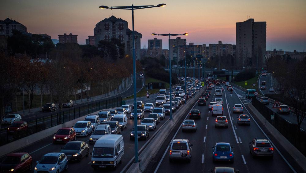 Tráfico en las carreteras españolas