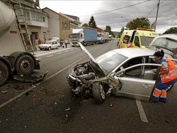 Ocho fallecidos y cinco heridos en los cinco accidentes de este fin de semana