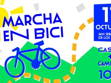 Marcha en bici de 'Objetivo Bienestar Junior'