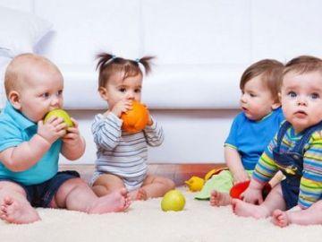 Los bebés consumen menos fruta y aceite oliva del recomendado