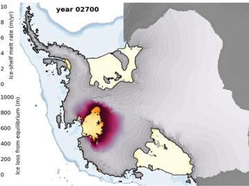 El deshielo de la Antártida oocidental continúa aumentando