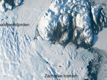 La NASA alerta del deshielo de un glaciar en Groenlandia