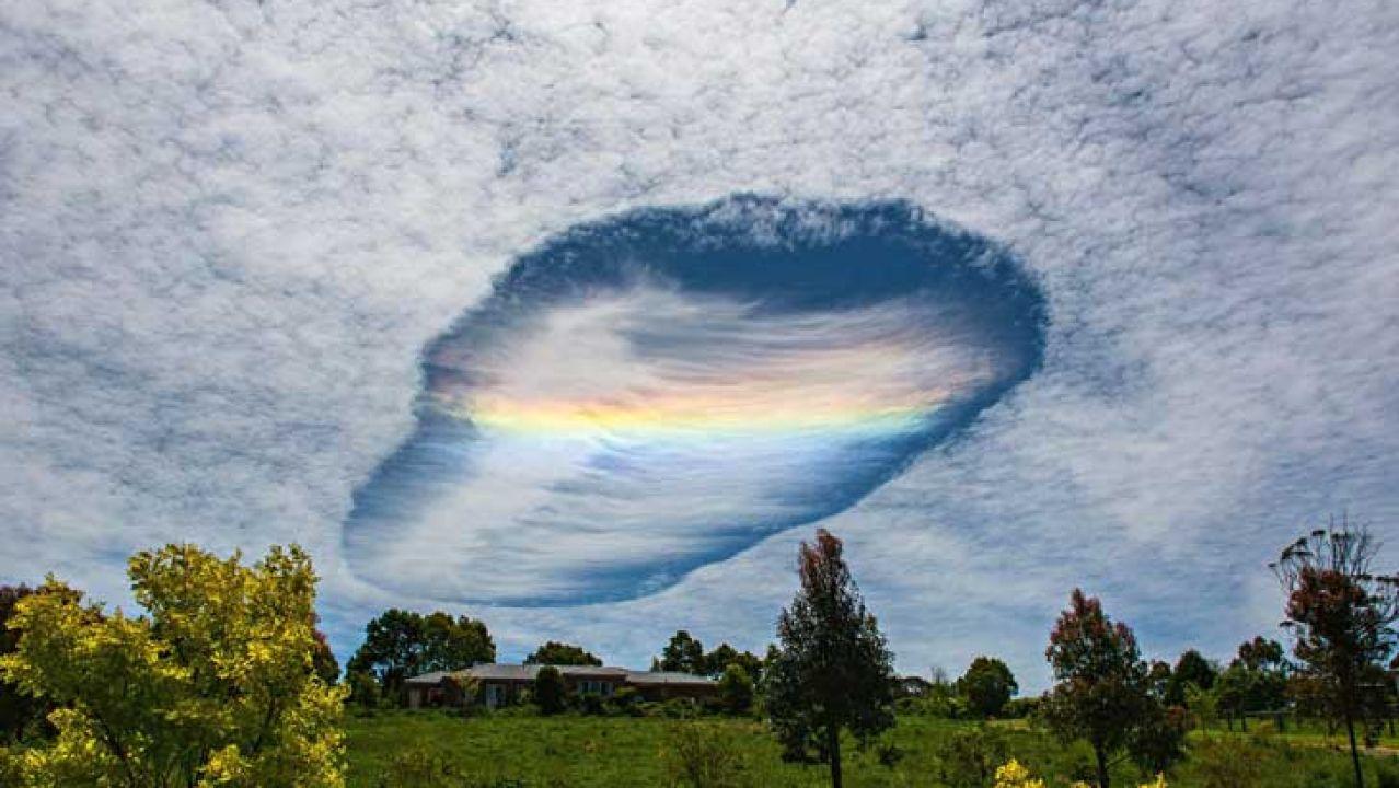 Skypunch: el fenómeno de los agujeros en el cielo.