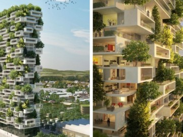 Primer  bosque de árboles vertical del planeta