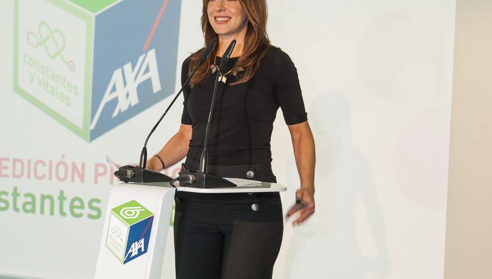 Mamen Mendízabal, presentadora del acto de entrega de la I edición de los Premios Constantes y Vitales
