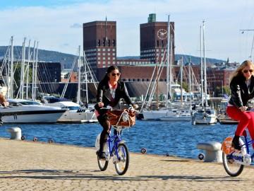 Oslo, en bicicleta