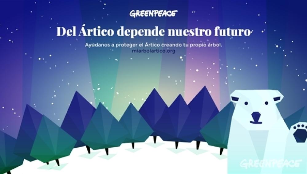 Decora tu árbol navideño y ayuda a aproteger el Ártico