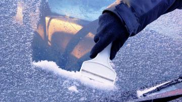 Consejos para quitar el hielo de los limpias