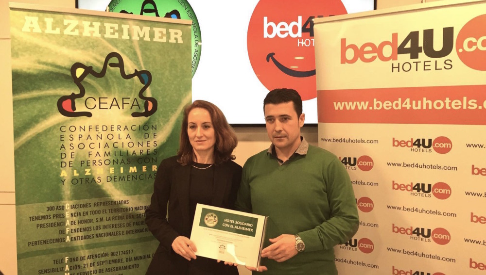 Se crea la primera red de hoteles solidarios con Alzheimer en España