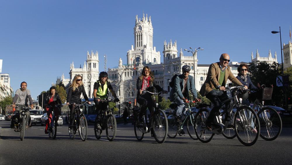 Una ruta ciclista de 400 kilómetros unirá los puntos turísticos más emblemáticos de Madrid