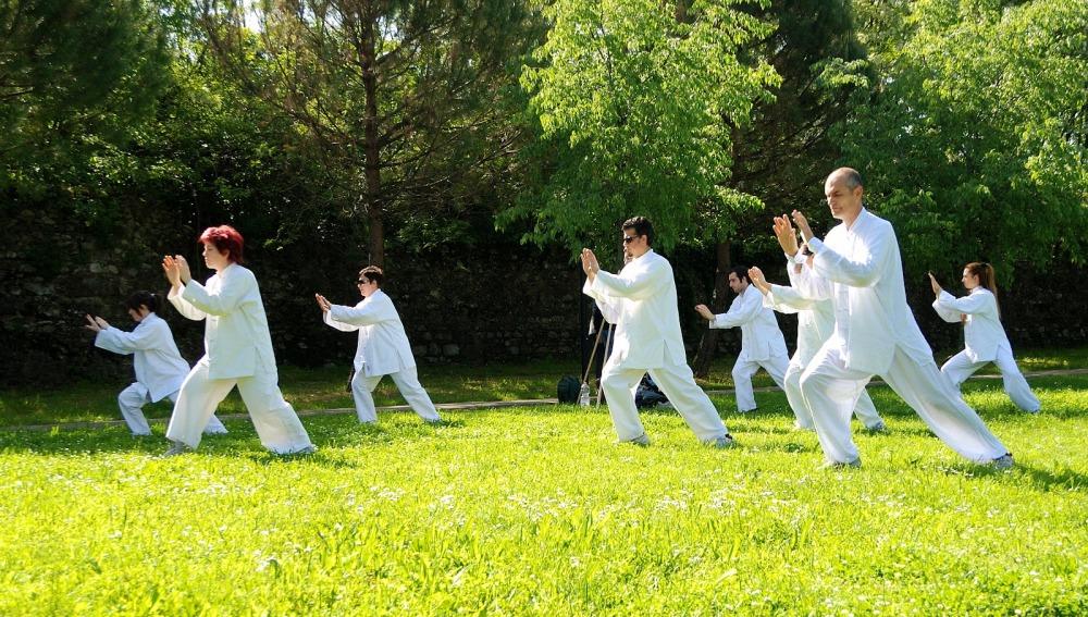 Practicar Tai Chi beneficia el sistema  cardiovascular