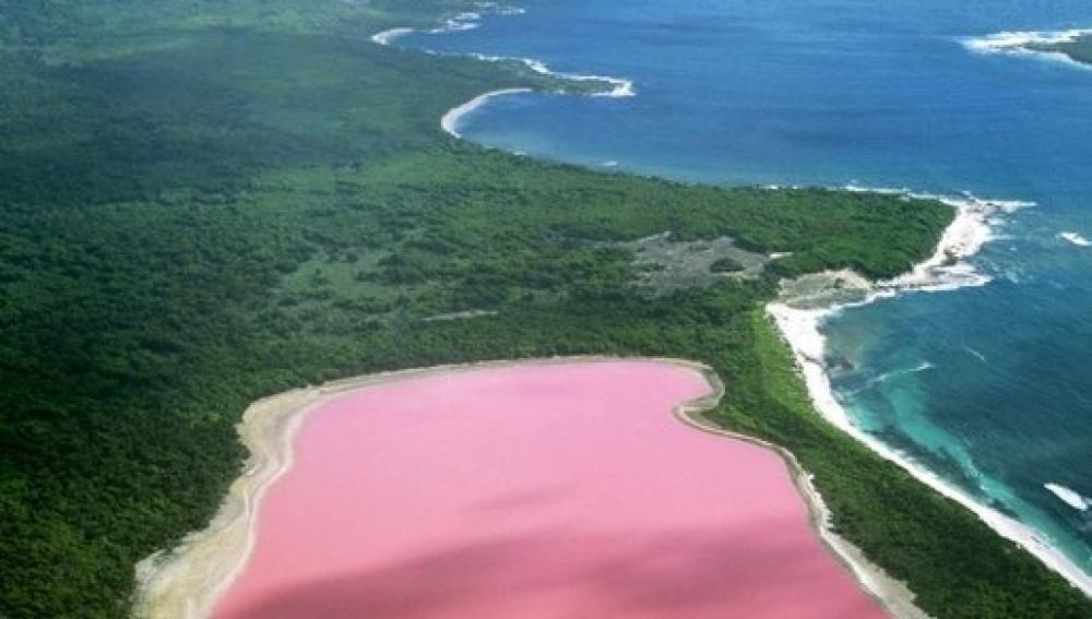 Hillier, el curioso lago australiano de color rosa.