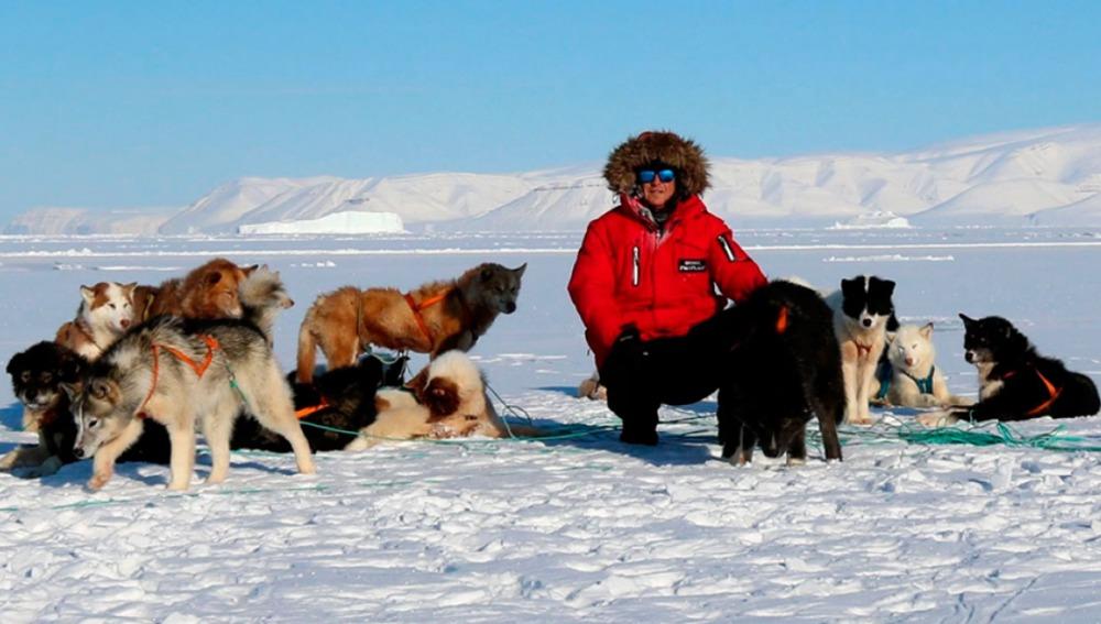 El 'Desafío del Ártico', una expedición que recorrerá Groenlandia con 32 perros