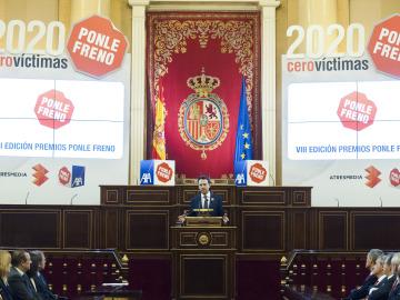 Matías Prats ha sido el encargado de conducir los VIII Premios Ponle Freno
