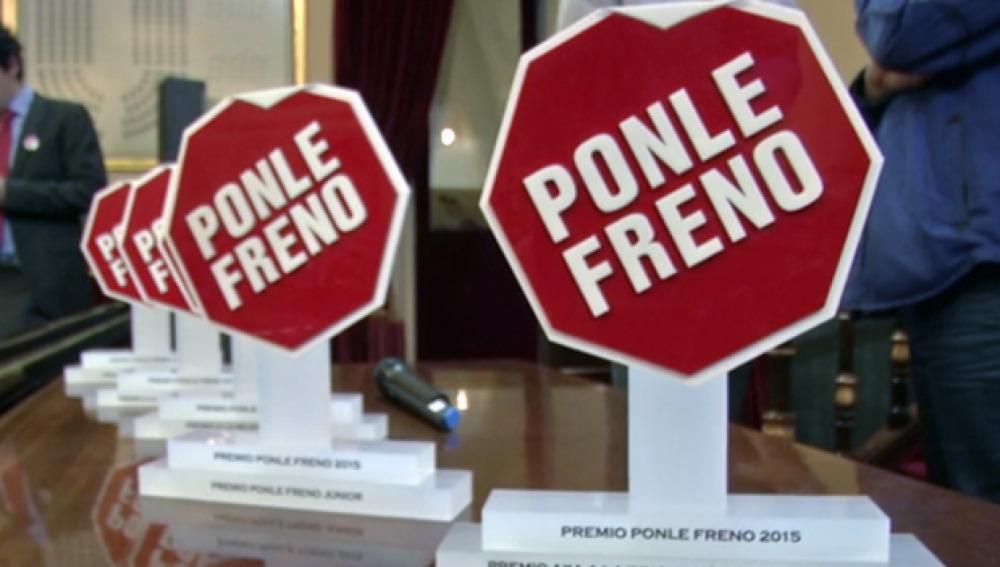 Los finalistas de los premios Ponle Freno
