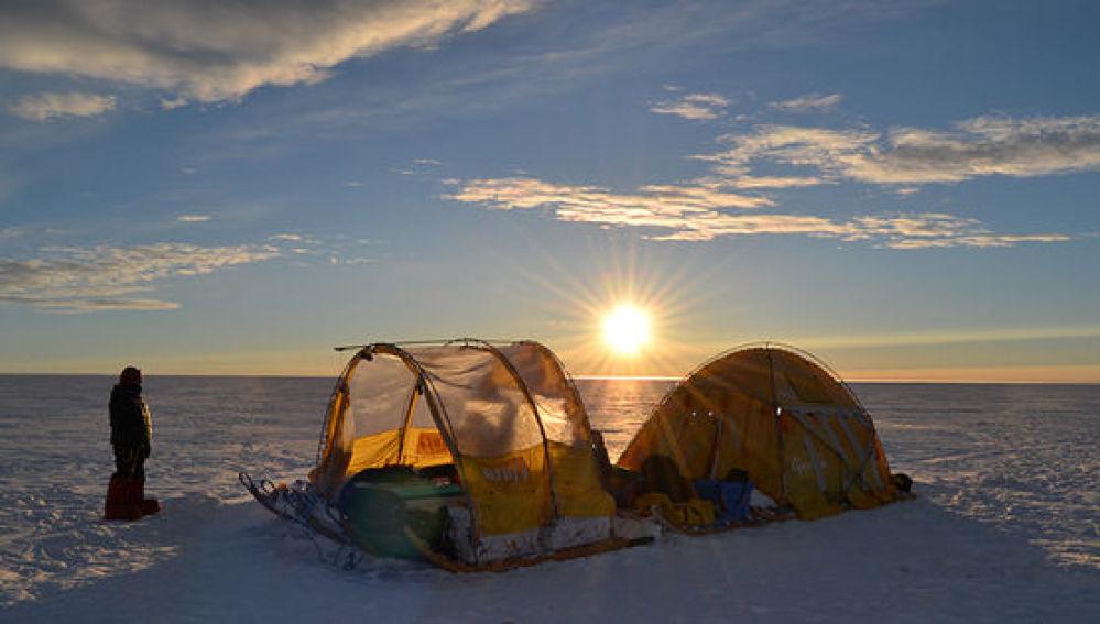 Expedición a Groenlandia en 2014