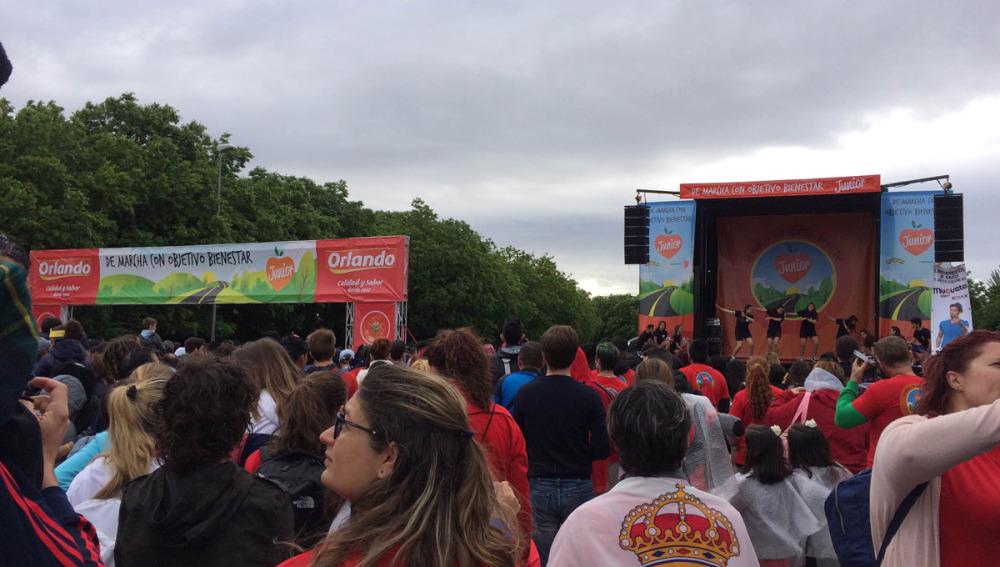 'De Marcha con Objetivo Bienestar Junior'
