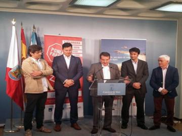 Rueda de Prensa Carrera Ponle Freno en Vigo