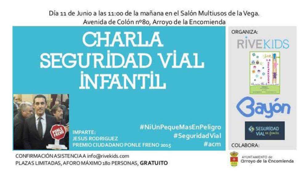 Jesús Rodríguez ofrece una charla sobre Sistemas de Retención Infantil