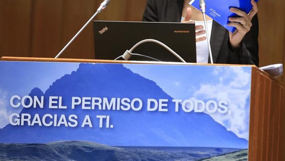 María Seguí en el décimo aniversario del carné por puntos