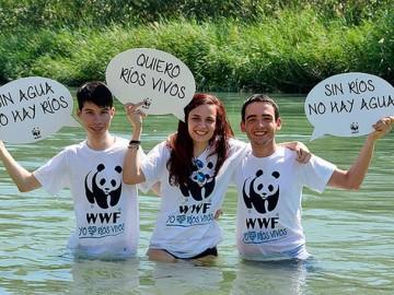 'Mójate por los ríos', una iniciativa de WWF