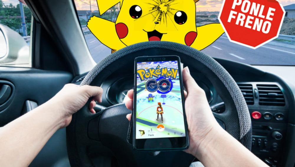 No conduzcas mientras juegas a 'Pokémon Go'