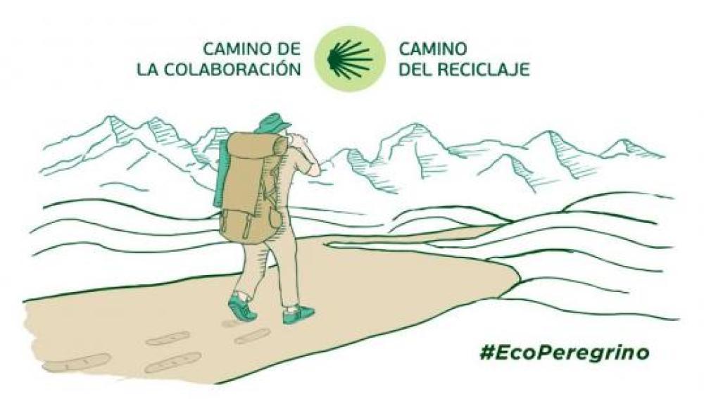 Una iniciativa fomenta el reciclaje entre los peregrinos del Camino de Santiago