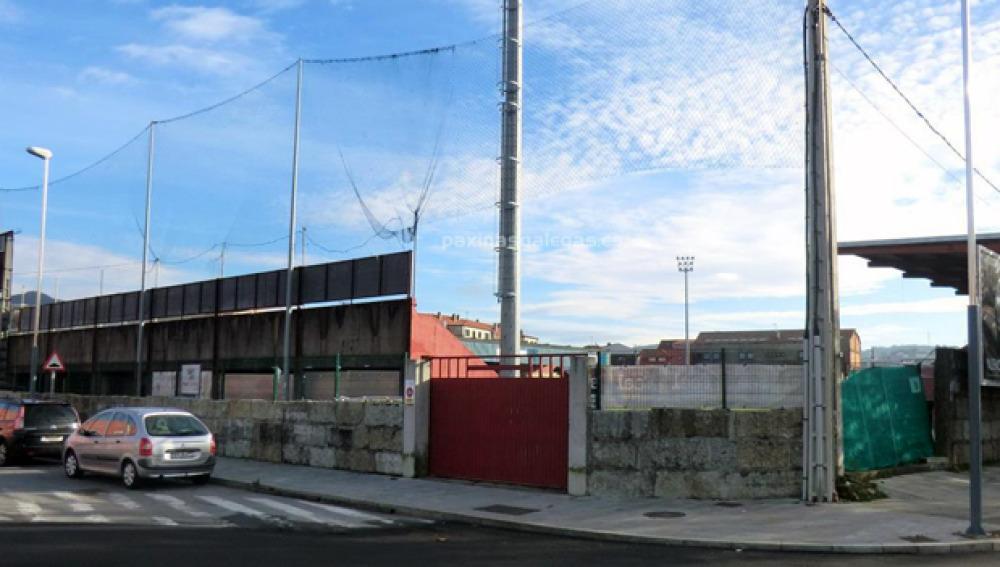 Polideportivo de A Lomba en Vilagarcía de Arousa