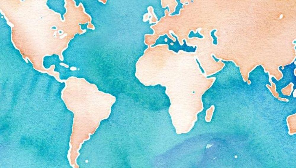 Un mapa simula cómo sería el movimiento de los residuos de plástico en los océanos