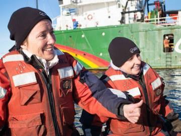 Emma Thompson viaja al Ártico para pedir su cuidado y protección