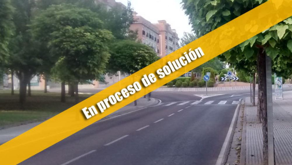 Señal en Mérida
