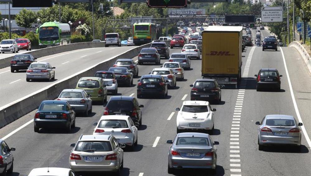 Ocho muertes en las carreteras españolas el fin de semana