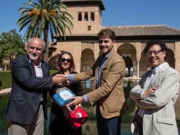La Alhambra de Granada ya es un espacio público completamente cardioprotegido