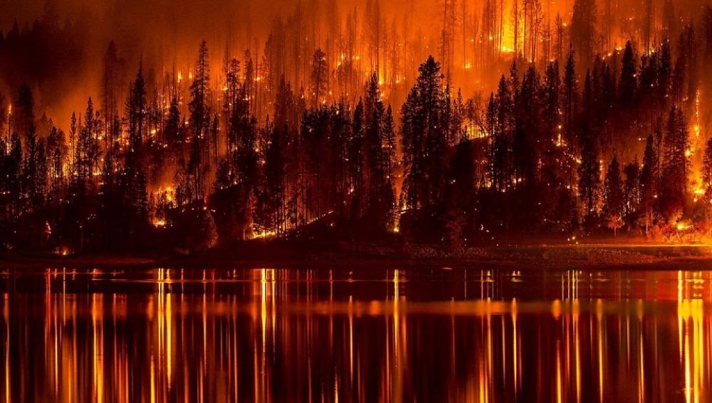 Los incendios forestales queman en España un 20 % menos de superficie que hace un año