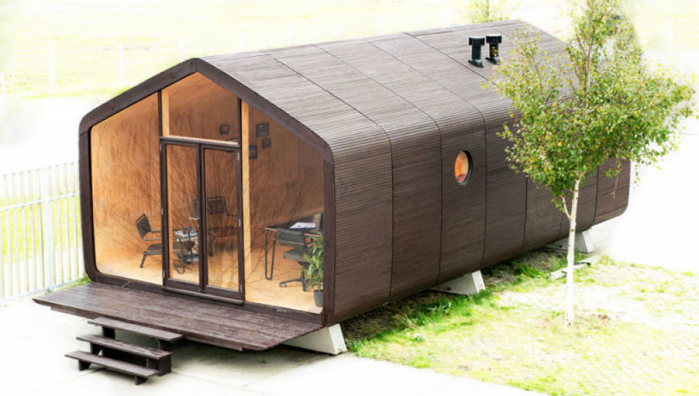 Wikkelhouse, la primera casa respetuosa con el medio ambiente