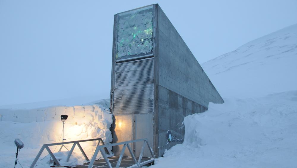 Un almacén de semillas en el Ártico para preservar la supervivencia de la humanidad