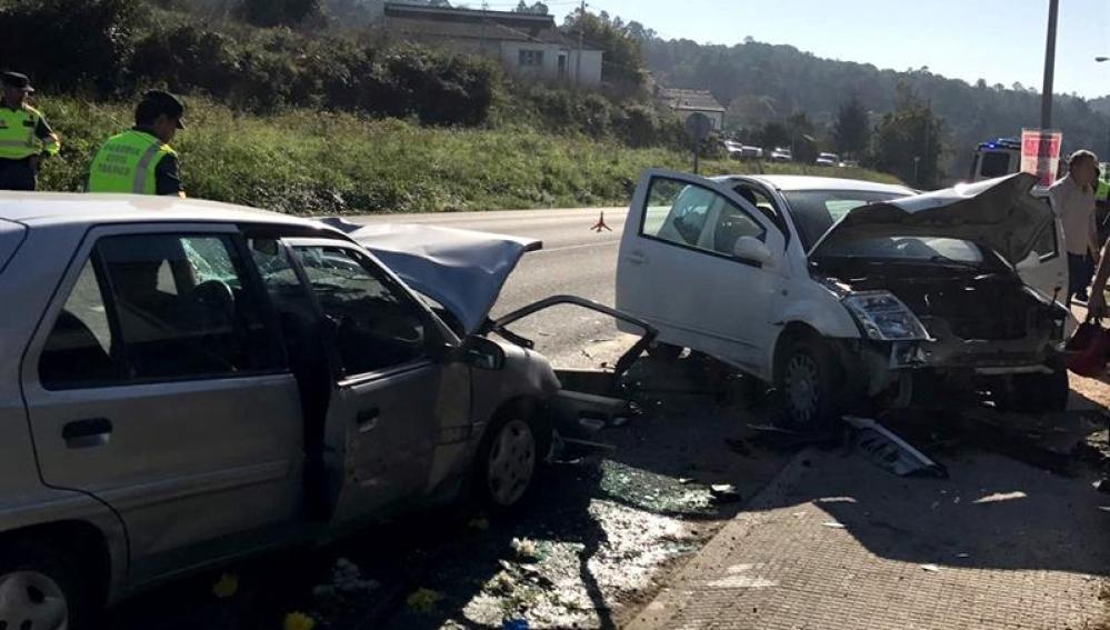 Diez muertos en accidentes de tráfico desde el inicio del puente de Todos los Santos