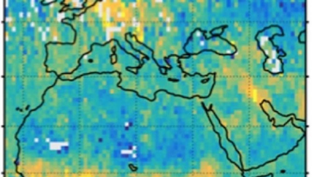 Primeros mapas muestran el CO2 emitido por  el hombre